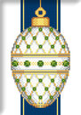 "Схема ""White Faberge Christmas Egg with Emeralds"""